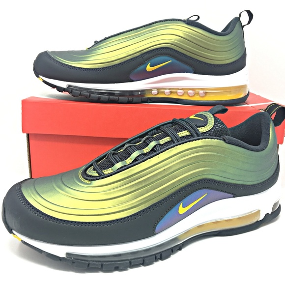 Nike Air Max 97 LX 'Liquid Metal' Anthracite MENS NWT